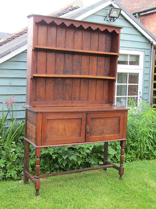 Victorian Country Oak Dresser