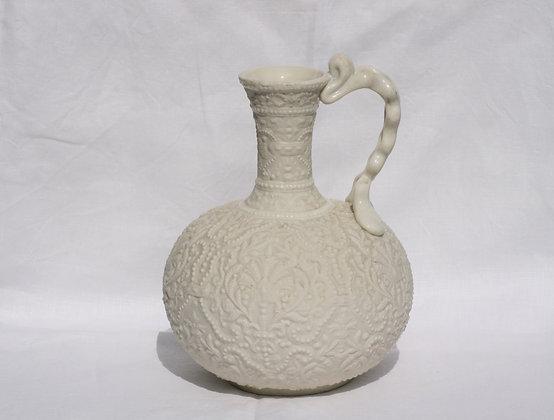 19th c Copeland Parian Ware Vase