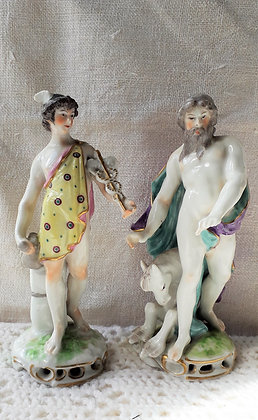 Sampson of Paris Figures Hermes and Perseus