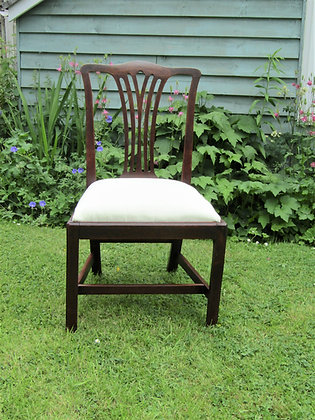 Georgian Chippendale Style Chair