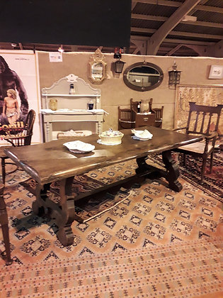 Spanish Colonial Style Refectory Table