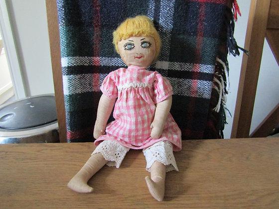 Vintage Folk - Art Rag Doll
