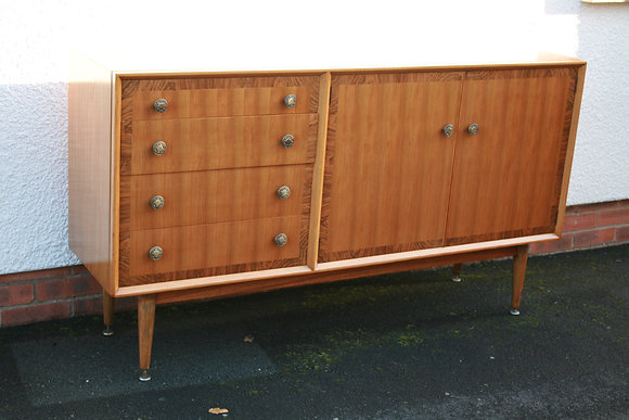 Mid-Century French Credenza Sideboard