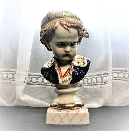 19thc Staffordshire Bust of a Child (1)