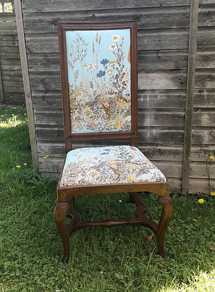 Antique Dutch-Style Hall Chair