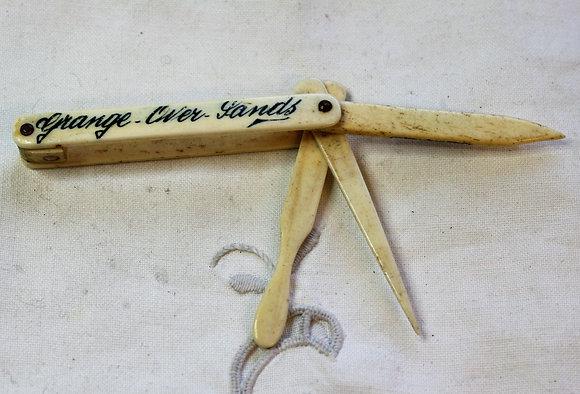 Edwardian Bone Souvenir Stanhope Manicure
