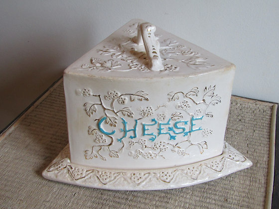 Very Large Victorian Cheese Dish