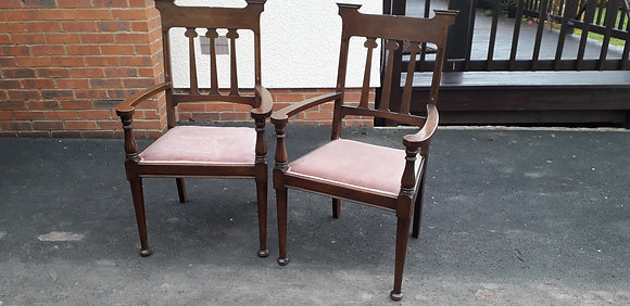 Pair of Armchairs attrib. to Shapland & Petter