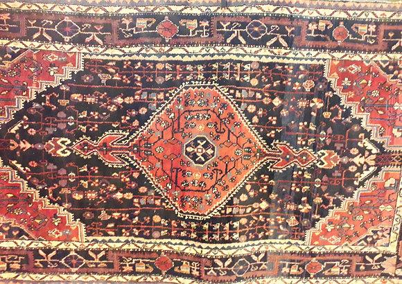 Hand made good quality heavy pure wool Eastern rug