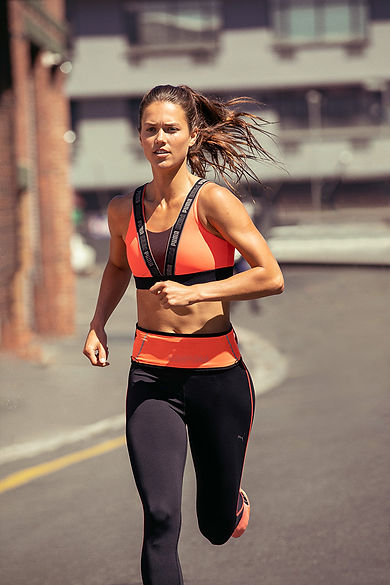 běžkyně PUMA a Jdu běhat