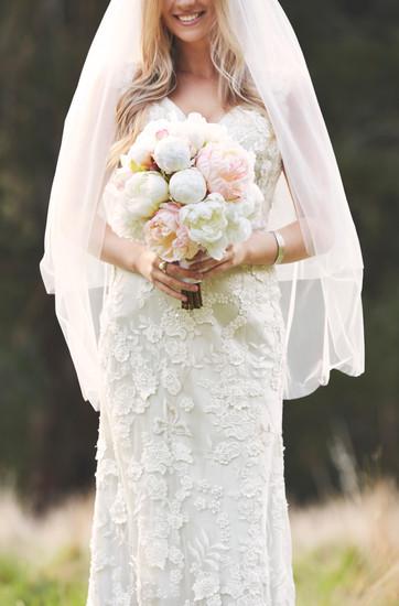 White peonies bouquets silk artificial flowers wedding florist melbourne
