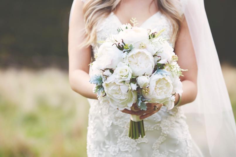 Rustic wedding bouquet florist melbourne bridal ceremony