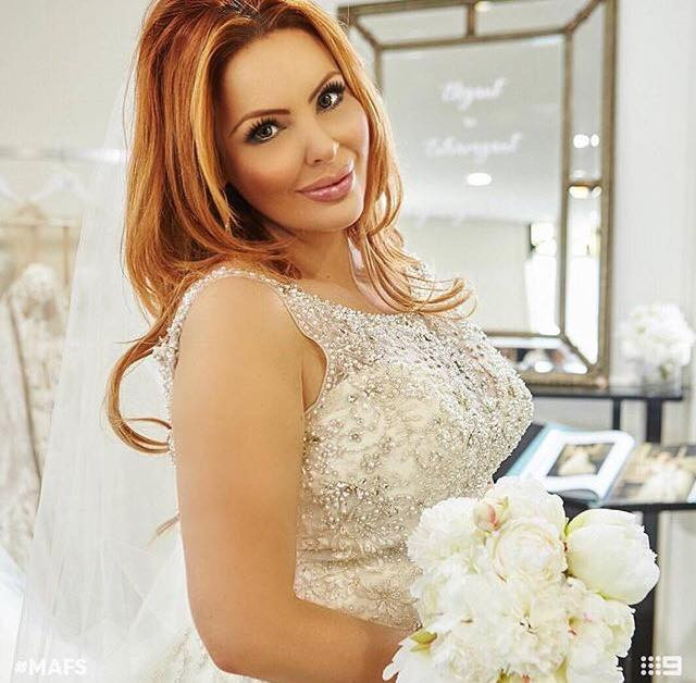 White peonies wedding bouquet artificial silk