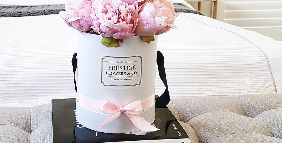 Pink Peonies Flower Box - Classic