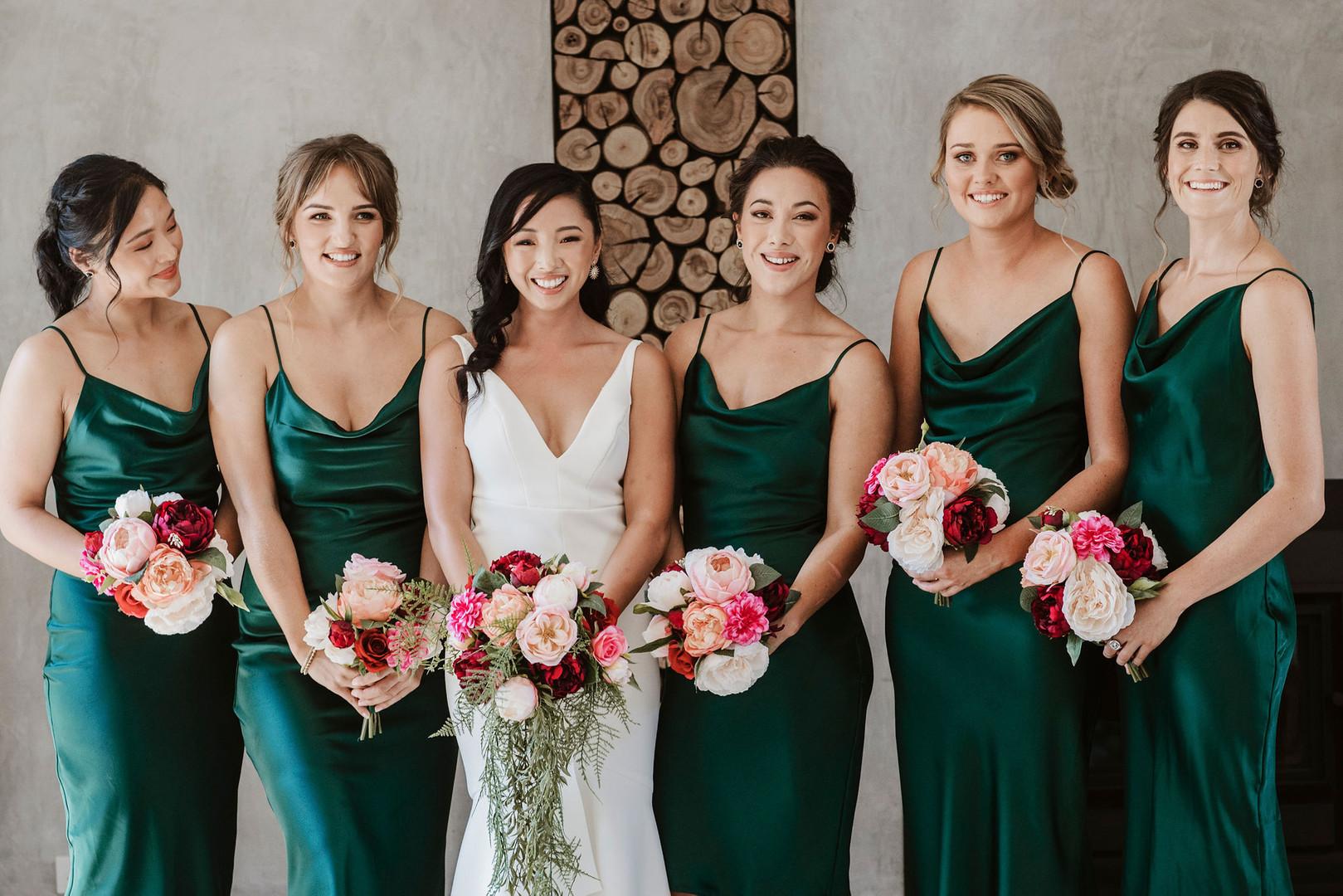 Melbourne wedding florist flowers artificial silk bouquets hire