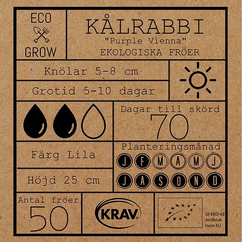 """Kålrabbi """"Purple Vienna"""""""