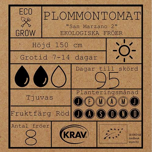 """Plommontomat """"San Marzano 2"""""""