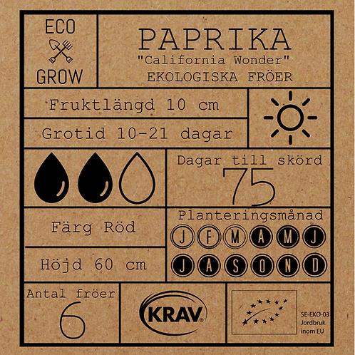 """Paprika """"California Wonder"""""""
