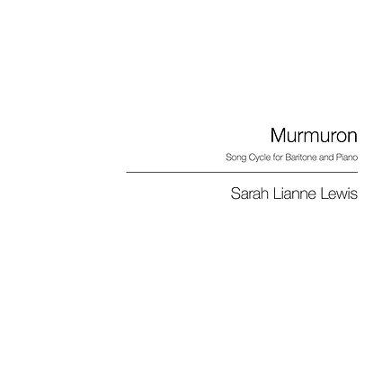Murmuron [Baritone & Piano]