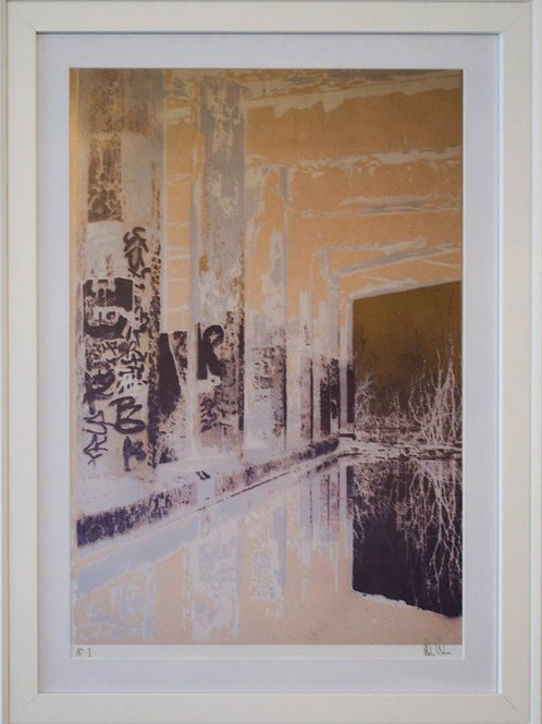 Tunnels Gold Limited Edition Print