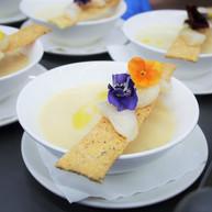 Hokkaido Sashimi Scallop with Cauliflowe