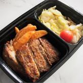 LW7 Honey & Mustard Roast Baby Pork Ribs served with Roast Potatoes & Garden Vegetables