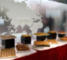 La Casa provides catering service for company event.