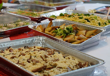 Company can hold light party catering in their office in hong kong