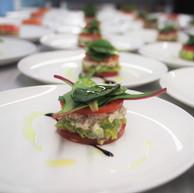 Crab Meat, Avocado & Tomato Stack