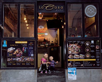 La Casa Burger & pasta shop is at Sheung Wan, Hong Kong