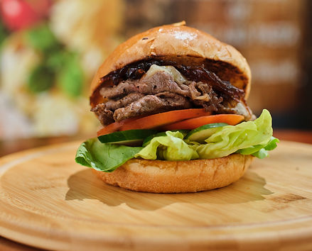 200g Sliced Beef Sirloin Burger with Por