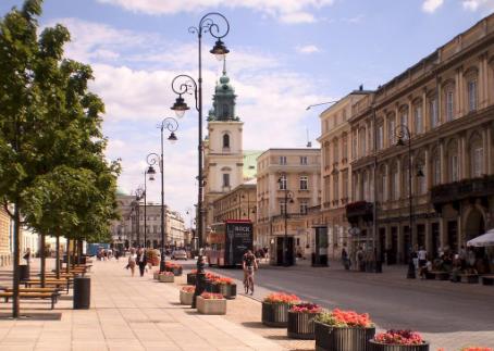 Un dia en Varsovia