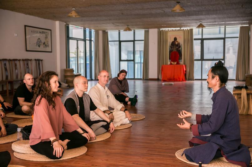 Master Yuan Teaching