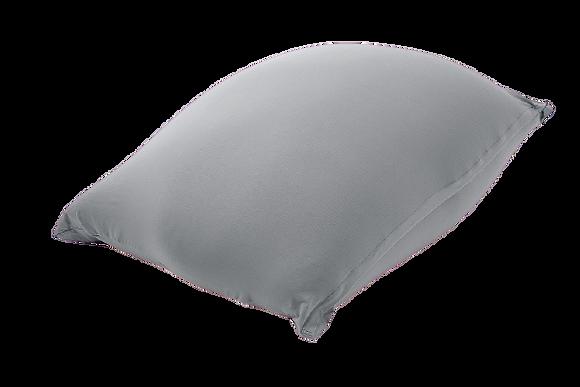 """פוף אפור מלנג' - 85\125 ס""""מ - גדול"""
