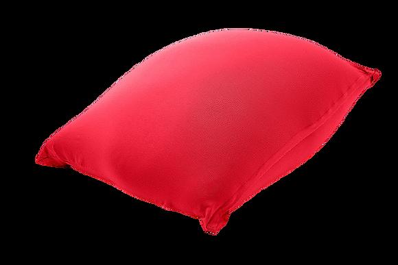 """פוף אדום - 85\125 ס""""מ - גדול"""