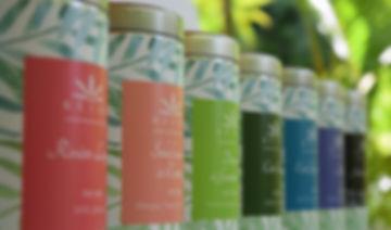 Boîte packaging Réïone thés et infusions de la Réunion