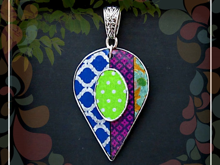 Designing with lightweight Paper Pendants.