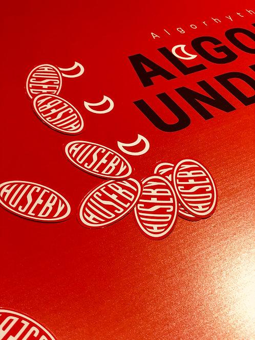 Huseby Logo Sticker