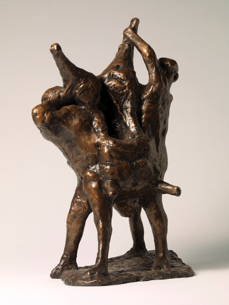 Meat Porters Maquette
