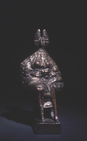 Seated Queen, maquette 1962-63