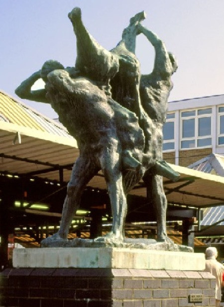 Meat Porters in Harlow Market Square