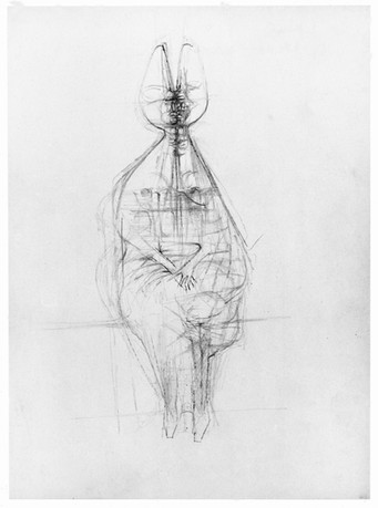Seated Queen 1963