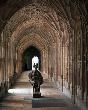 Queen. Gloucester Cathedral
