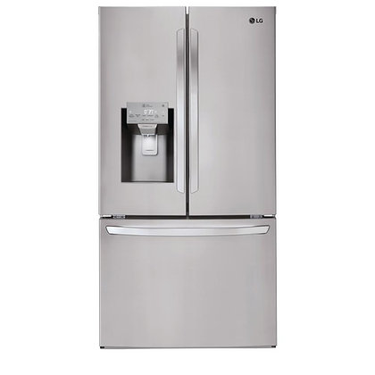 LG 24 cu.ft Smart Wi-Fi Enabled Counter-Depth Refrigerator