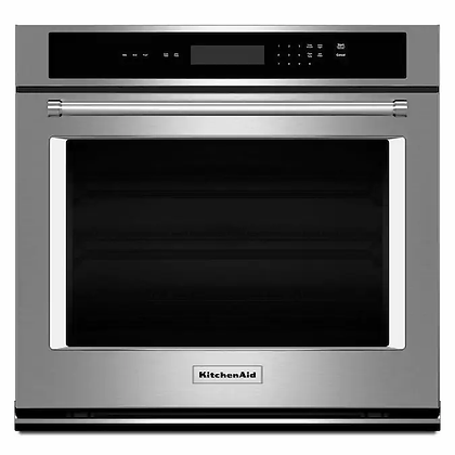 KitchenAid 30-in Self-Cleaning Single Electric Wall Oven
