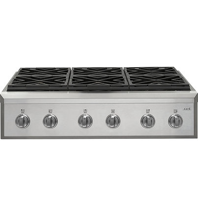 Cafe 36 in. Gas Cooktop with 6 Burners
