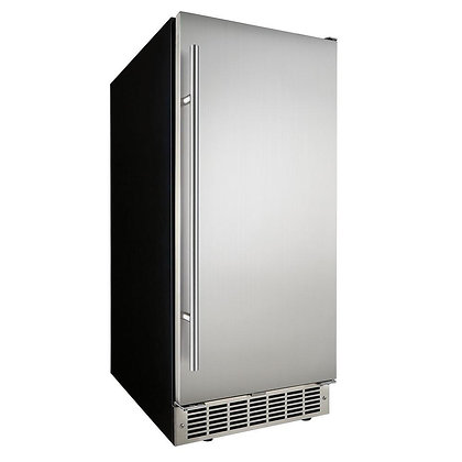 15 In. Built-In Ice Maker in Stainless Steel