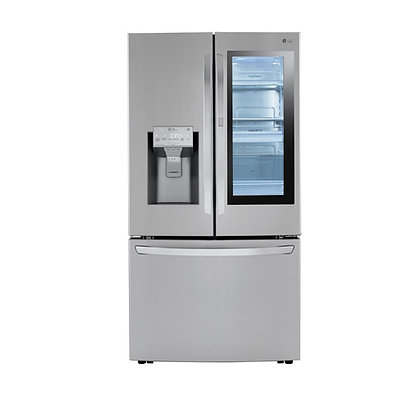 LG InstaView 26-cu ft Refrigerator with Dual Ice maker