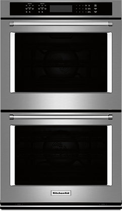 KitchenAid 27 in Double Electric Wall Oven