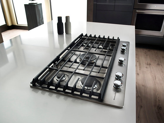 KitchenAid 36 in. Gas Cooktop with 5 Burners